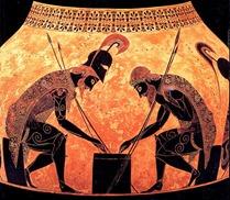 Black-Figure_Achilles_and_Ajax_Detail_Exekias_
